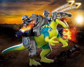 Playmobil 70625 Dinosauri Spinosauro Potere della Doppia Difesa | Playmobil Dino Rise