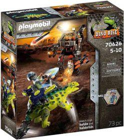 Playmobil 70626 Dinosauri Anchillosauro Difesa del Guerriero | Playmobil Dino Rise