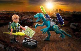 Playmobil 70629 Dinosauri Uncle Rob Armamenti | Playmobil Dino Rise