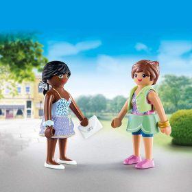 Shopping Girls   Playmobil