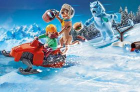 Fuga dallo Snow Ghost | Playmobil Scooby Doo