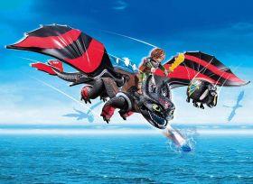 Dragons Racing Hiccup E Sdentato | Playmobil Dragons