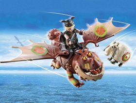 Dragons Racing Gambedipesce E Muscolone | Playmobil Dragons