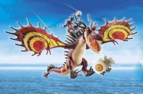 Dragons Racing: Moccicoso E Zannacurva | Playmobil Racing