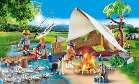 Famiglia In Campeggio | Playmobil City Life