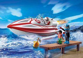 Motoscafo Con Motore Subacqueo   Playmobil City Life