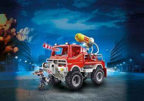 Playmobil 9466 Camion Spara Acqua Dei Vigili Del Fuoco| Playmobil Vigili del Fuoco