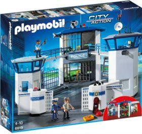 Playmobil 6919 Stazione della Polizia con Prigione (Playmobil City Action)