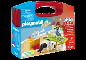 Playmobil 5653 Valigetta Veterinario (Playmobil City Life)