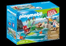 Playmobil 70035 Allenamento in Canoa (Playmobil City Life)
