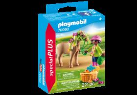 Playmobil 70060 Ragazza con Pony (Playmobil Figures)