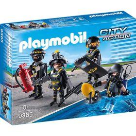 Playmobil 9365 Squadra D'assalto Della Polizia (Playmobil City Action)