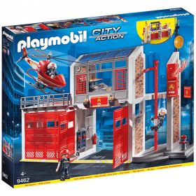 Playmobil 9462 Grande Centrale Dei Vigili Del Fuoco (Playmobil City Action)