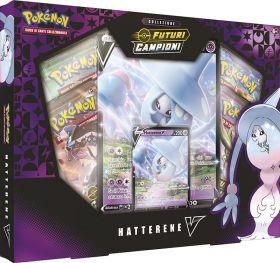 Pokémon V Futuri Campioni Collezione Speciale Hatterene-V