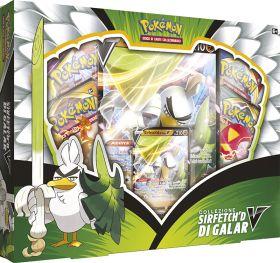Pokémon V Fiamme Oscure Collezione Speciale Sirfetch'd-V