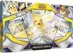 Pokémon GX Pikachu-GX e Eevee-GX Box da Collezione su ARSLUDICA.com