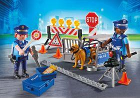 Posto di Blocco della Polizia Playmobil City Action 6924 su ARSLUDICA.com