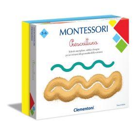Prescrittura Montessori Clementoni