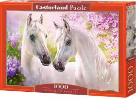 Puzzle 1000 pezzi Castorland Romantici Cavalli | Puzzle Animali