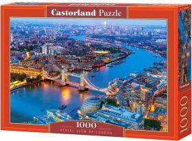 Puzzle 1000 pezzi Castorland Vista Aerea di Londra | Puzzle Paesaggi Città