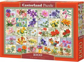 Puzzle 1000 pezzi Castorland Fiori Vintage | Puzzle Fiori