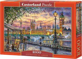 Puzzle 1000 pezzi Castorland Ispirazione a Londra | Puzzle Città Londra
