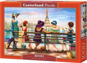 Puzzle 1000 pezzi Castorland Uscita tra Ragazze | Puzzle Persone