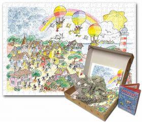 Puzzle Formiche 1000 pezzi Festa delle Mongolfiere (Puzzle Fabio Vettori)