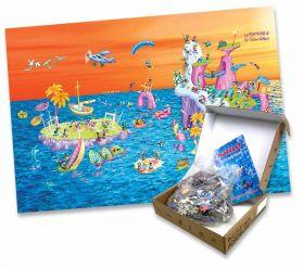 Puzzle Formiche 1000 pezzi Isola | Puzzle Fabio Vettori