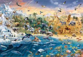 Puzzle Animali 1500 pezzi Ravensburger Our Wild World