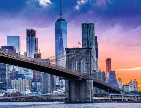 Puzzle Città 2000 pezzi Ravensburger New York da Brooklyn a Manhattan