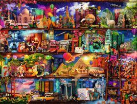 Puzzle Composizioni 2000 pezzi Ravensburger Miracoloso Mondo dei Libri