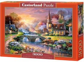 Peaceful Reflections (Puzzle 3000 pezzi Castorland)