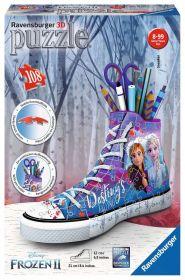 Puzzle 3D Frozen 2 Portapenne Sneaker Gioco (Ravensburger 3D Puzzle)