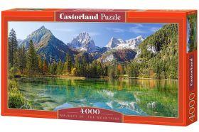 Puzzle 4000 pezzi Castorland Montagne Maestose | Puzzle Paesaggi Montagna
