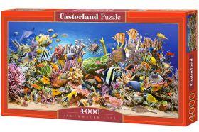 Puzzle 4000 pezzi Castorland Vita Sottomarina | Puzzle Mare