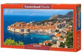 Puzzle 4000 pezzi Castorland Dubrovnik, Croazia   Puzzle Paesaggi
