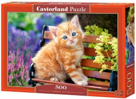 Ginger Kitten (Puzzle 500 pezzi Castorland)