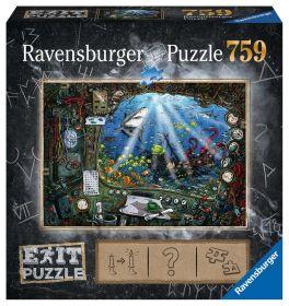 Puzzle Escape Room 759 pezzi Ravensburger Il Sommergibile Box