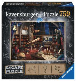 Puzzle Escape Room 759 pezzi Ravensburger L'Osservatorio Magico Box