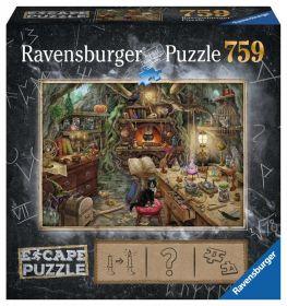 Puzzle Escape Room 759 pezzi Ravensburger La Cucina della Strega Box