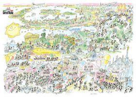 Giro d'Italia (Puzzle 1080 Pezzi Formiche)