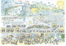 Aeroporto (Puzzle 1080 Pezzi Formiche)
