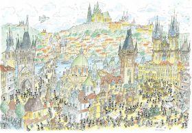 Praga (Puzzle 1080 Pezzi Formiche)