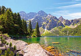Morskie Oko Lake, Tatras, Poland(Puzzle 1000 pezzi Castorland)