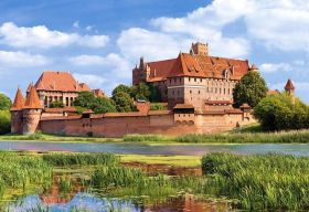 Malbork Castle, Poland (Puzzle 3000 pezzi Castorland)