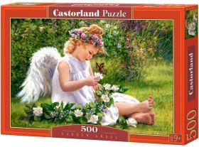 Garden Angel (Puzzle 500 pezzi Castorland) (Puzzle)