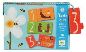 PUZZLE DUO NUMERI | Puzzle Djeco