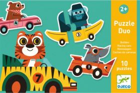 PUZZLE DUO RACING CARS | Puzzle Djeco