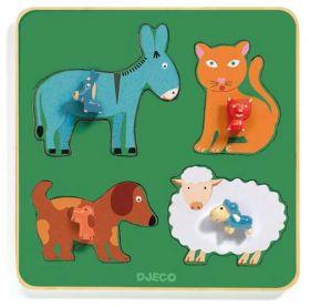 PUZZLE FAMILY FARM | Puzzle Djeco